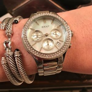 00323af335d Dkny Accessories - DKNY Stainless Steel Chronograph Watch